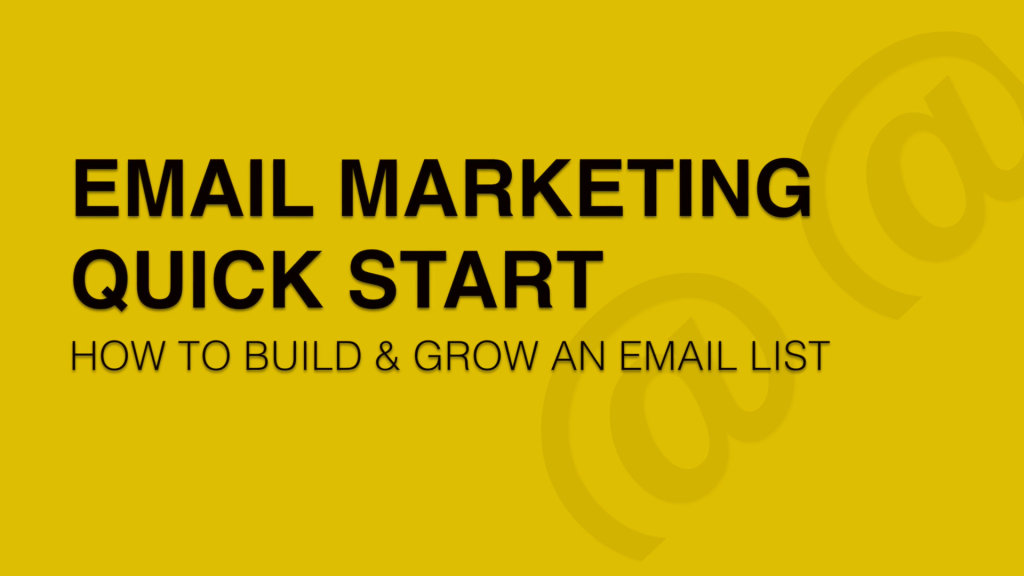 email marketing quickstart image